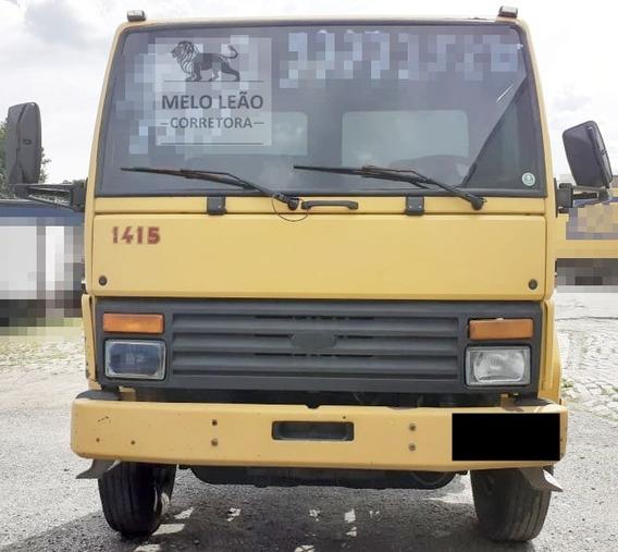 Cargo 1415 - 98/98 - Truck Randon, No Chassi, Motor Mwm 6cc