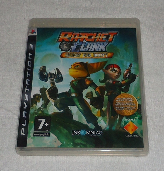 Ratchet Clank Quest For Booty Ps3 R2 Portugues ** Leia