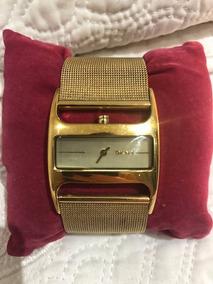 Relógio Feminino Dkny Dourado