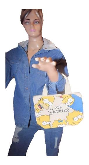 47 Street Carterita De Tela Chica Simpsons