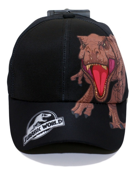 Gorro Jurassic World Dinosaurios Lic Original Línea Infantil