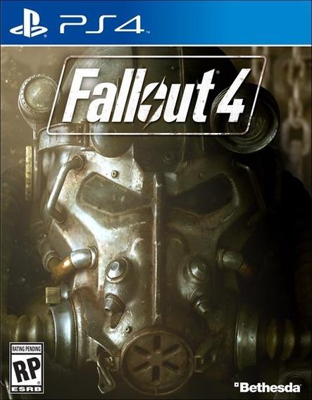 Game Playstation 4 Fallout 4 Ps4 Português Novo Lacrado