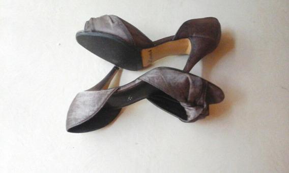 Zapatos De Vestir Con Dedo Descubierto!