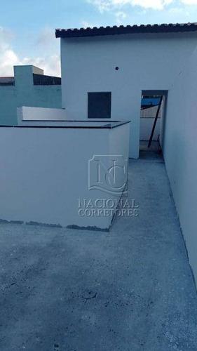 Sobrado À Venda, 103 M² Por R$ 585.000,00 - Vila Pires - Santo André/sp - So3833