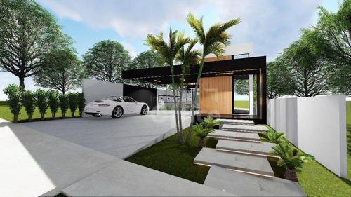 Casa À Venda, 228 M² Por R$ 1.300.000,00 - Condomínio Residencial Grand Trianon - Anápolis/go - Ca0653