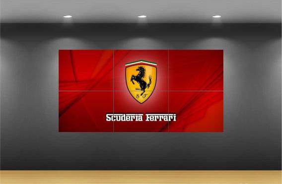 Cuadro Decorativo Formula Uno F1 Ferrari Petronas Force