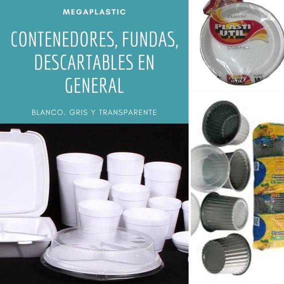 Contenedores, Tarrinas Y Fundas Desechables