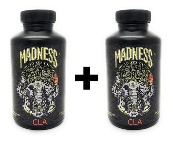 Madness Lab Cla 1000mg 90 Capsulas (2 Unidades)