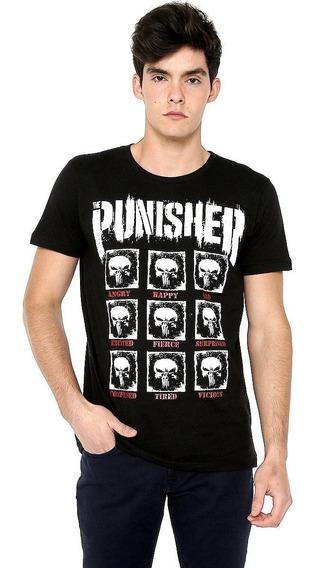 The Punisher Marvel Playera 100% Original 2