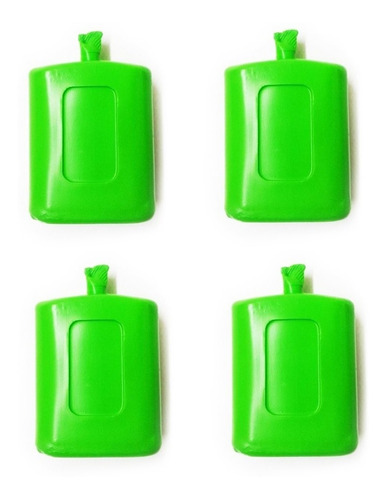 Imagen 1 de 7 de Gel Refrigerante Rigido 150 Gr Para Conservadora Pack X 4