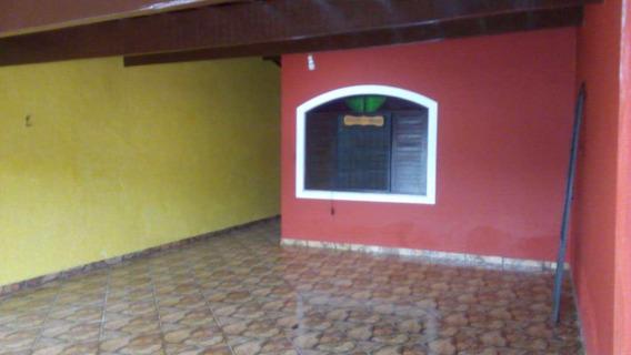 Casa Em Mongaguá Bairro Residencial Com Moradores Fixos . - V7193