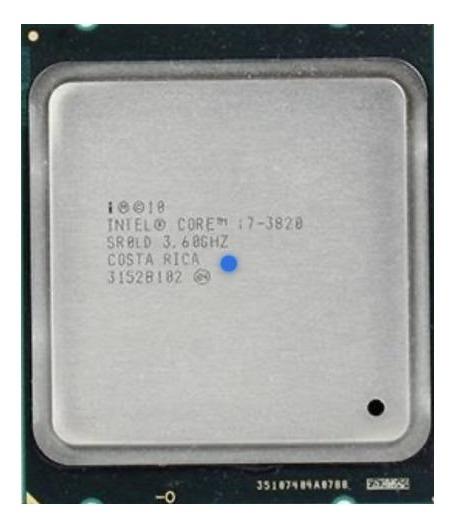 Processador Intel Core I7 3820 3,6ghz