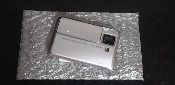Casio Exilim Ex-v7sr 7.2 Mp Cámara Digital Obs: Leia Tudo .