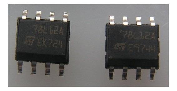 Regulador De Tensão 78l12a / Mc78l12a / Ncv78l12a
