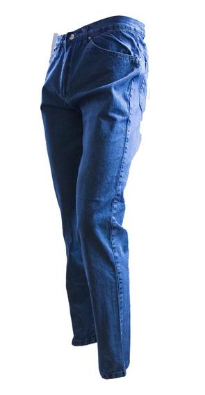 Pantalon Clasico Hombre Jean Costura India Montana 54 Al 60