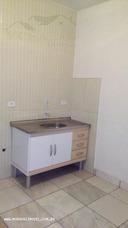 Casa 1 Dormitório A Locação Em Taboão Da Serra, Jardim Maria Rosa, 1 Dormitório, 1 Banheiro - 8134