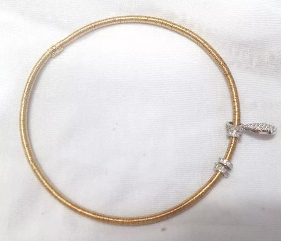 Vivara - Pulseria Coleção Triade Ouro Amarelo Diamantes