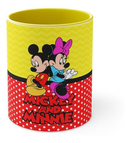 Imagem 1 de 4 de Caneca Minie & Mickey