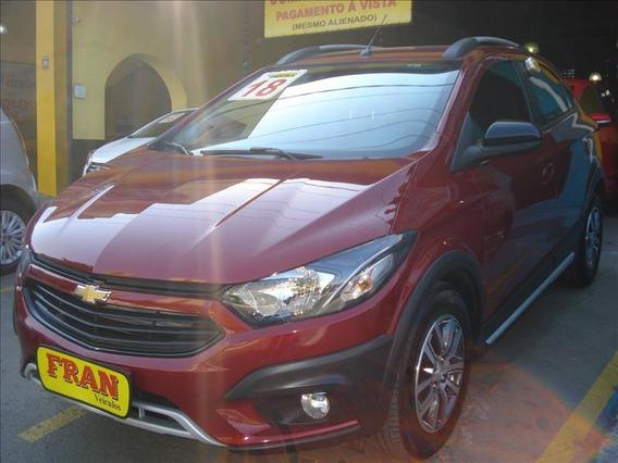 Chevrolet Onix Activ Automático Motor 1.4 2018 Vermelho