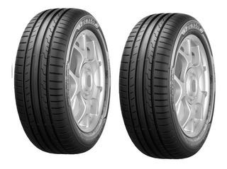 Pack 2 Llantas 205/55r16 91v Dunlop Sport Blueresponse
