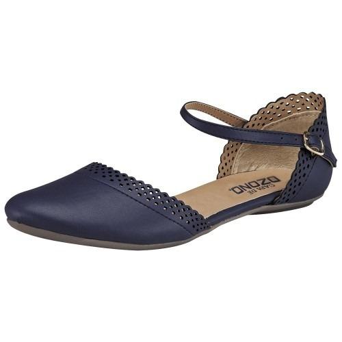Zapato Casual Mujer Marino Capa De Ozono 50827 Env Gratis!!!