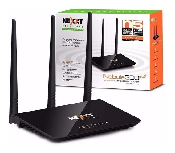 Router Wireless Nexxt Nebula 300 Plus 300mbps