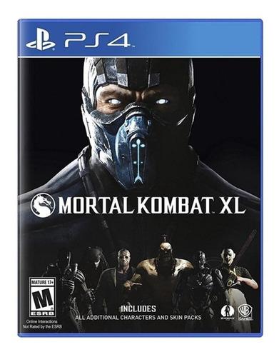 Imagen 1 de 4 de Mortal Kombat XL Warner Bros. PS4  Físico