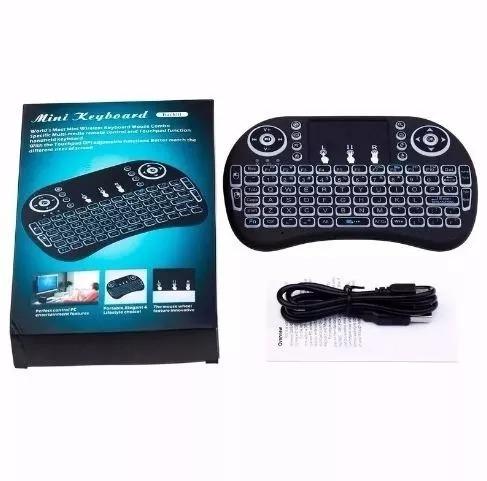 Mini Teclado Wireless Led Keyboard Para Tv Smart