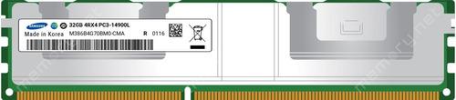 Imagem 1 de 3 de Memória Ram 128gb (4x32gb)  Ecc Ddr3  - Pc3-14900  Samsung