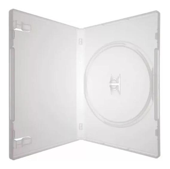 Capa De Dvd Box Kit Com 10 Unidades - Transparente