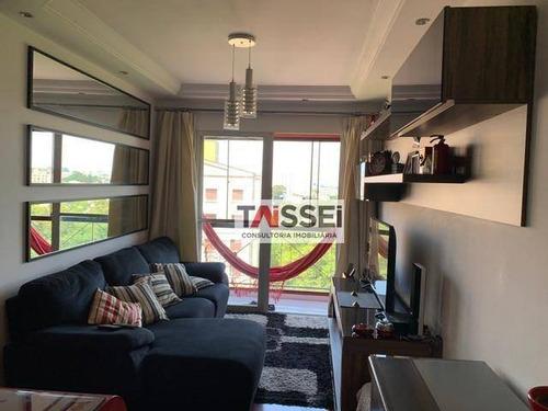Apartamento Com 3 Dormitórios À Venda, 65 M² Por R$ 275.000,00 - Sacomã - São Paulo/sp - Ap7796