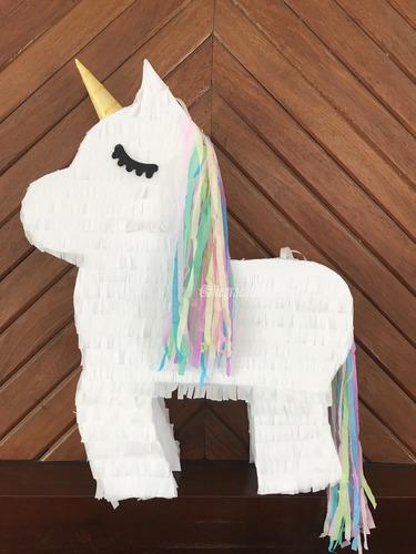 Imagen 1 de 5 de Piñatas Infantiles Unicornio Cumpleaños. Allegracotillones.