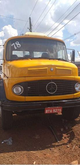 Mb 1313 Ano 78 Turbinado .freio A Ar ..chassi De 10/5
