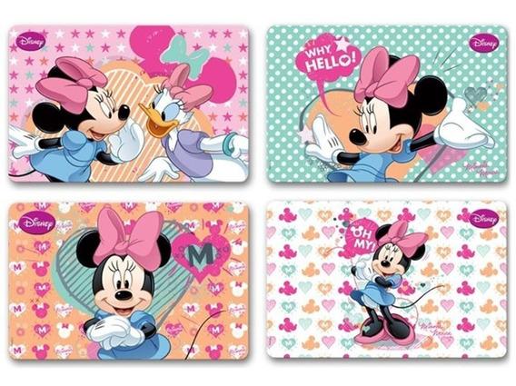 Jogo Americano Infantil Minnie 4 Peças Disney - Gedex