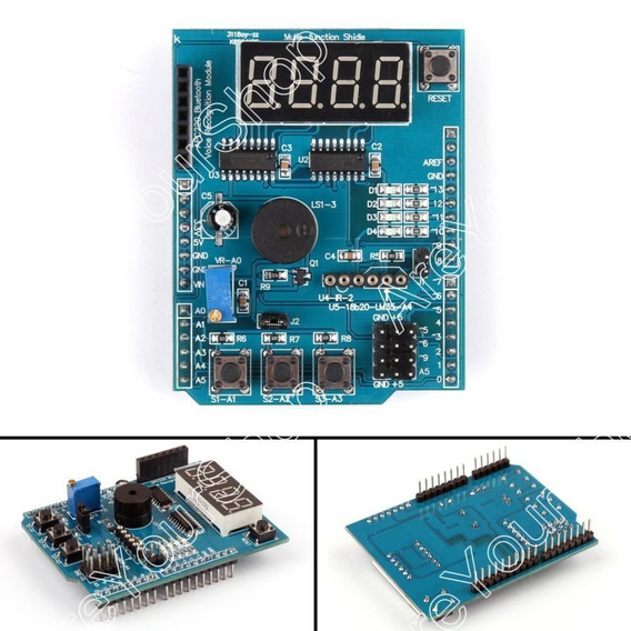 Arduino Uno / Mega - Shield Multifuncional