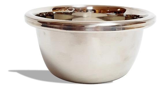 Bowl De Acero Inoxidable Reforzador Batir Reposteria Chico