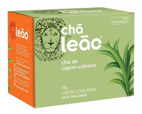 Imagem 1 de 1 de Chá Leão Ervas - Capim-cidreira - 15 Sachês