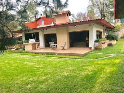 Casa Con La Mejor Vista Al Lago De Guadalupe Con Consultorio