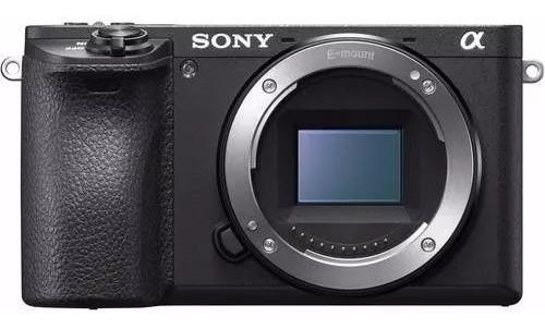 Câmera Mirrorless A6500 Corpo 4k Wifi