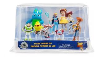 Toy Story 4 Play Set 9 Figuras Deluxe Nuevo Imp Disney Store