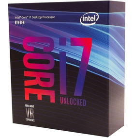 Processador Intel Core I7-8700k Coffee Lake 3.7ghz Cache 12m