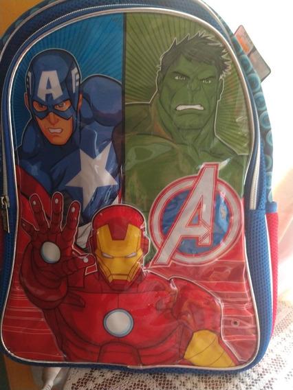 Mochila Original Marvel Avengers La Segunda Al 50%