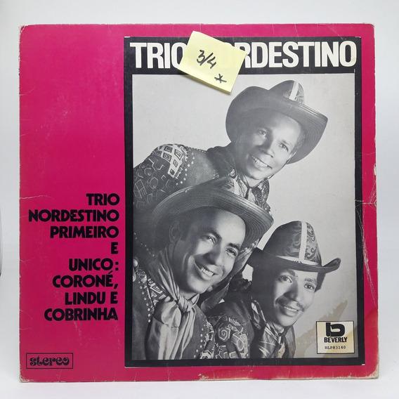 Lp Trio Nordestino Primeiro E Único Disco De Vinil