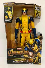 Boneco Wolverine Vingadores The Avengers 30cm