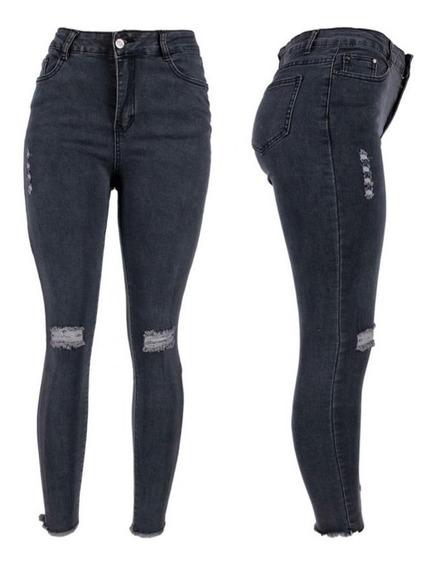 Pantalones Negros Mujer Rotos Mercadolibre Com Mx