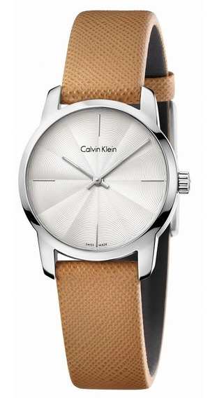 Reloj Calvin Klein City K2g231g6 Original Time Square