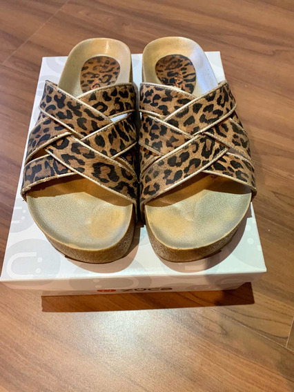 Zuecos Animal Print Usados