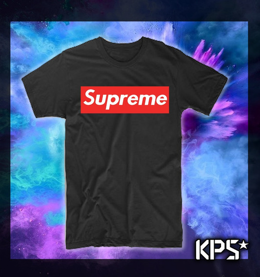 Polera Supreme // Estilo Skate // Trap // Hip Hop // Rap