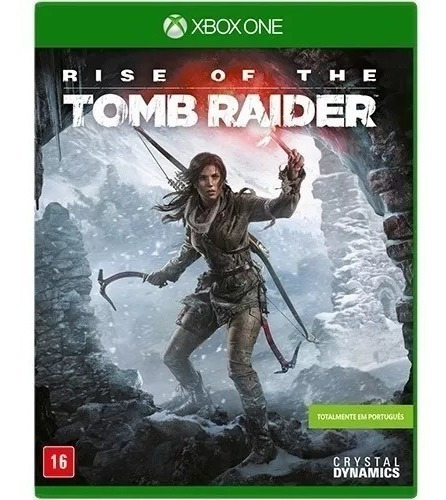 Rise Of The Tomb Raider Xbox One Mídia Digital + Brinde