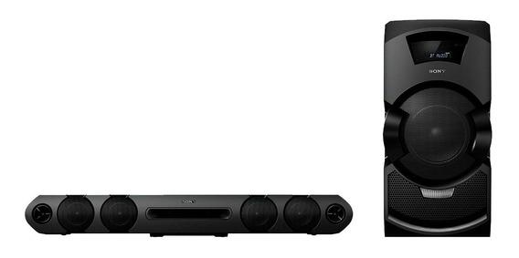 Mini System Sony Super Soundbar Mhc-gt3d Com Bluetooth E Nfc